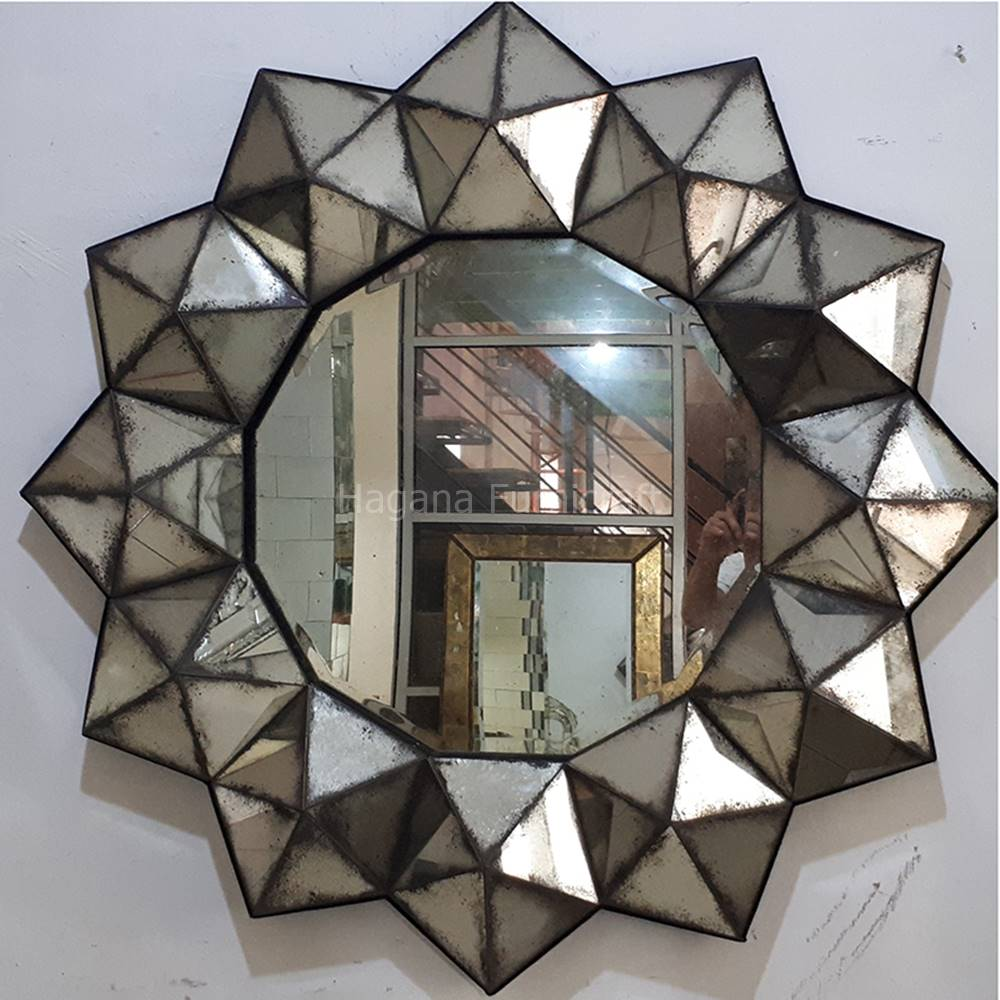 antique mirror glass wholesale